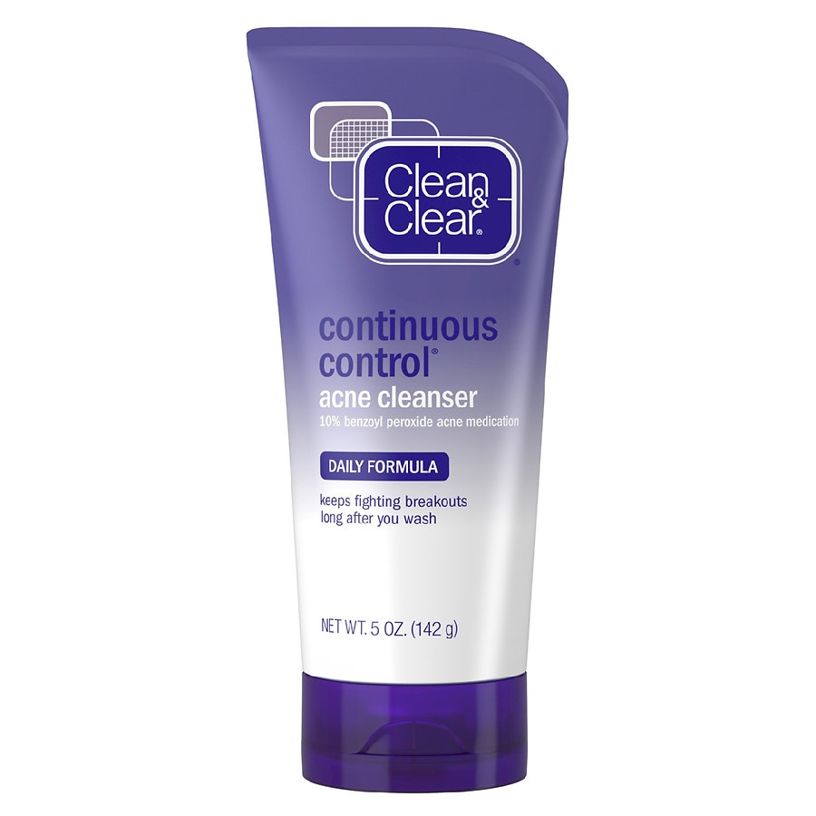 Clean Clear Continuous Control Daily Acne Face Wash Walgreens