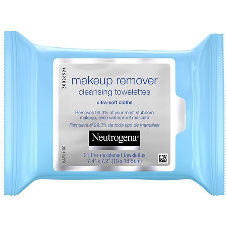 Neutrogena Makeup Remover Cleansing Towelettes - 21 ea