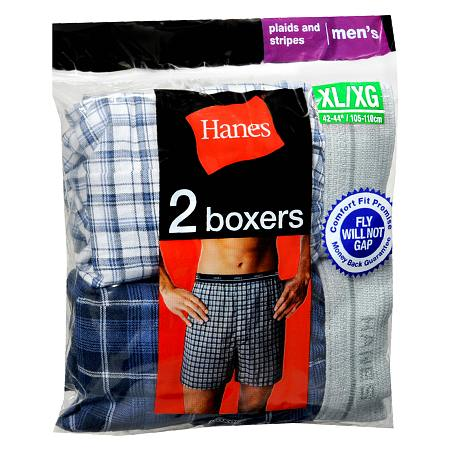 Hanes Men's Boxers Large 38 inch - 40 inch