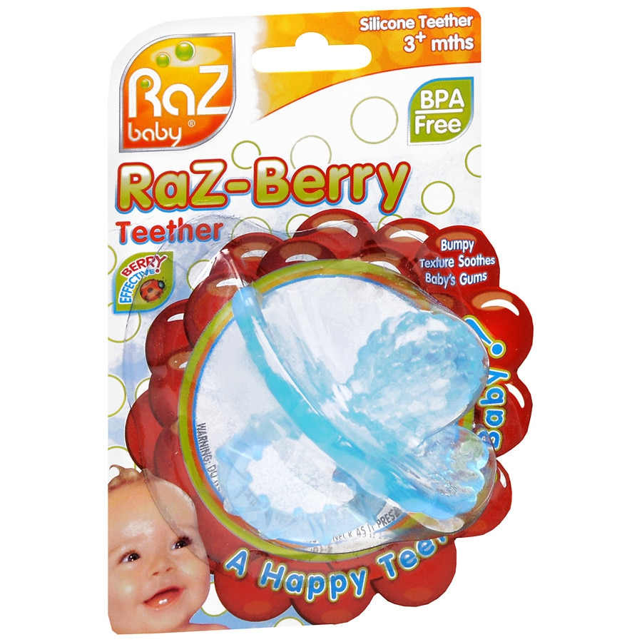 Raz Baby Raz-Berry Silicone Teether for 3+ Months1.0 ea ecf672bc2