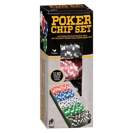 Cardinal Classic Games Poker Chip Set - 1 ea