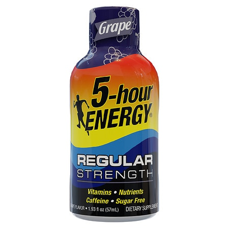 5-Hour Energy Energy Shot Grape