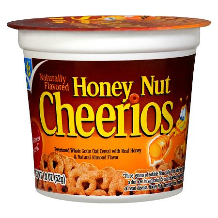 General Mills Honey Nut Cheerios Sweetened Whole Gain Oat Cereal