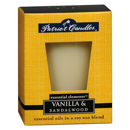 Patriot Candles Essential Elements Candle Vanilla & Sandalwood