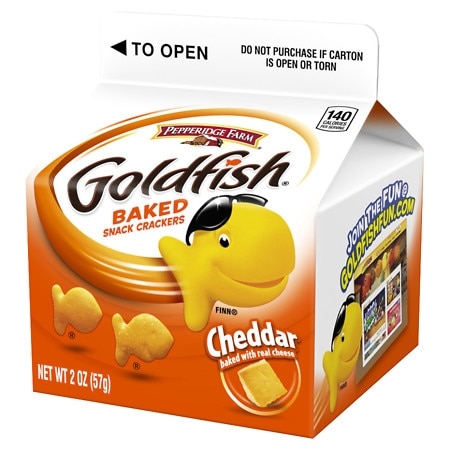Goldfish crackers logo images for Gold fish snacks