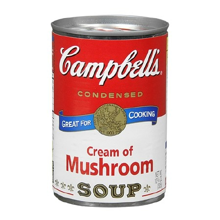 Campbell's Condensed Soup Cream of Mushroom