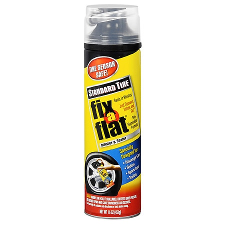 Fix-A-Flat Tire Inflator & Sealer