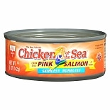 Chicken of the Sea Pink Salmon Chunk Style in Water