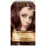 L'Oreal Paris Superior Preference Permanent Hair Color Dark Mahogany Brown 4M