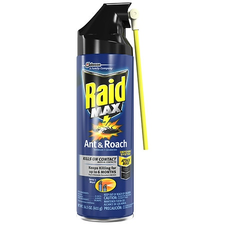 Raid Max Roach Killer 7 Spray Walgreens