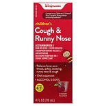 Walgreens Children's Plus Cough & Runny Nose Oral Suspension Cherry