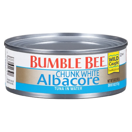 Bumble Bee Chunk White Albacore in Water - 5 oz.