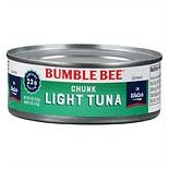 Bumble Bee Chunk Light Premium Tuna in Water