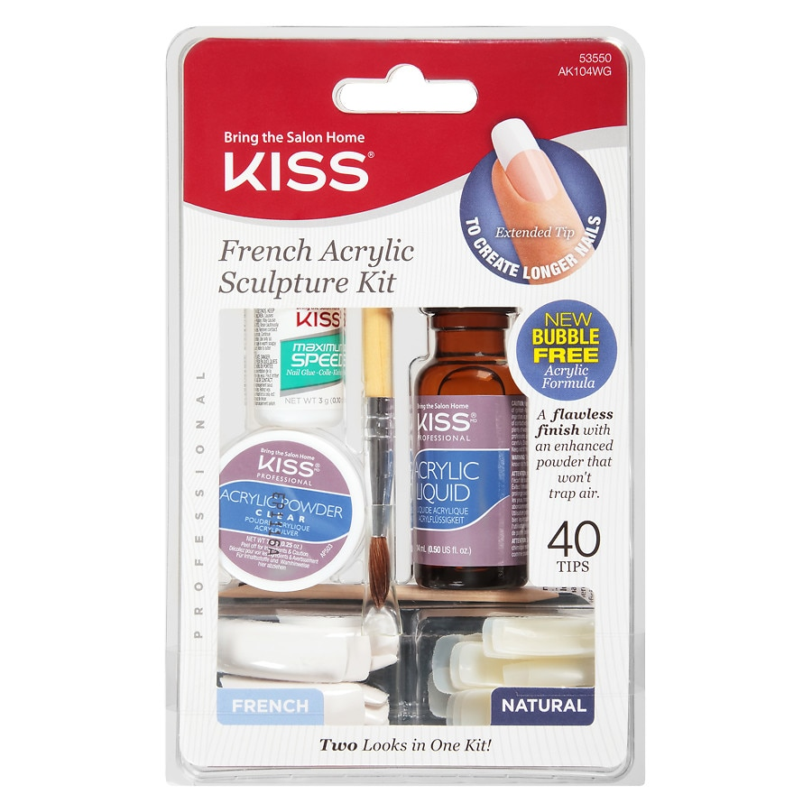 Kiss Her by Kiss French Acrylic Sculpture Kit | Walgreens
