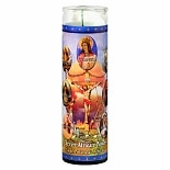 St. Jude Seven African Powers Prayer Candle 8.25 inch