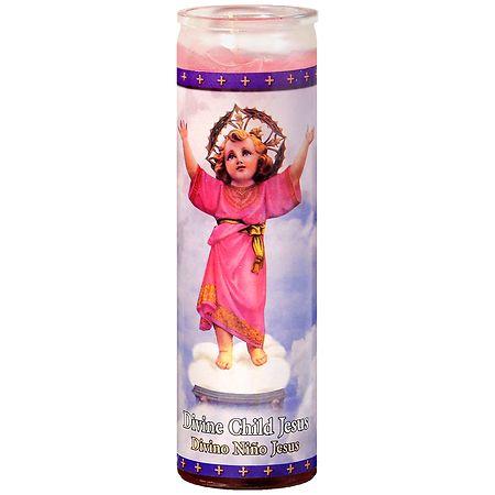St. Jude Divine Child Jesus Prayer Candle 8.25 inch - 1 ea