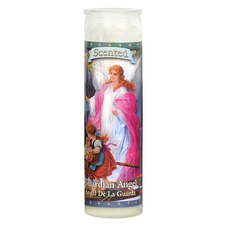 St. Jude Guardian Angel Prayer Candle 8.25 inch - 1 ea