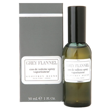 Geoffrey Beene Grey Flannel Eau De Toilette Spray - 1 fl oz