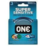 One Super Sensitive Extra Thin Lubricated Latex Condoms