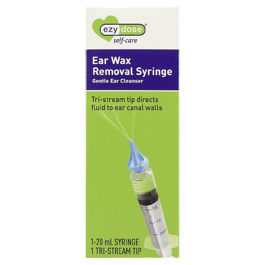 Easy Safe /& Effective Ear Wax Removal Tool for Ear Irrigation 20-in-1 Ear Cleaner Kit for Kids and Adults Ear Wax Syringe Kit by EarClear Ear Wax Remover