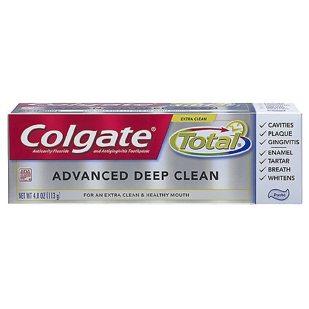 Colgate Total Total Advanced Clean Anticavity Fluoride and Antigingivitis Toothpaste