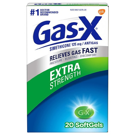 Gas-X Extra Strength Gas Relief Softgels - 20 ea