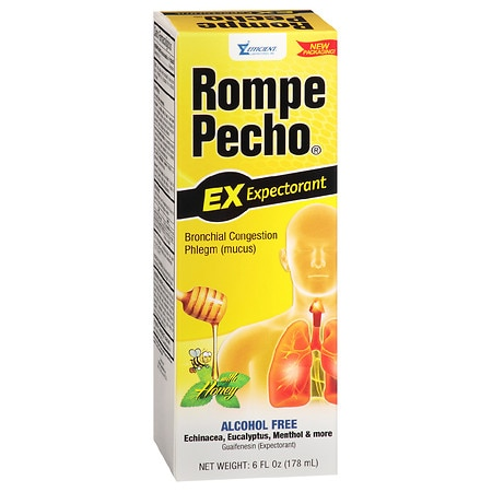Rompe Pecho Expectorant Liquid Honey - 6 fl oz