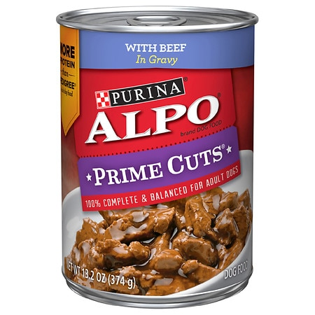 Purina Alpo Prime Cuts Homestyle Dog Food Beef