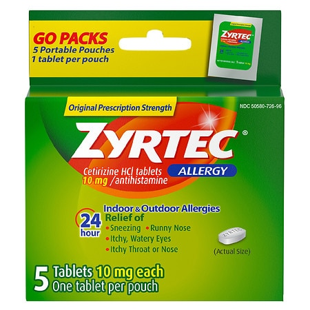 picture relating to Zyrtec Printable Coupon $10 known as Zyrtec Walgreens