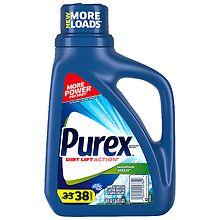 Purex Liquid Laundry Detergent Mountain Breeze