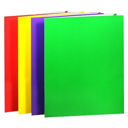 Penway 2 Pocket Folder (Color Varies)