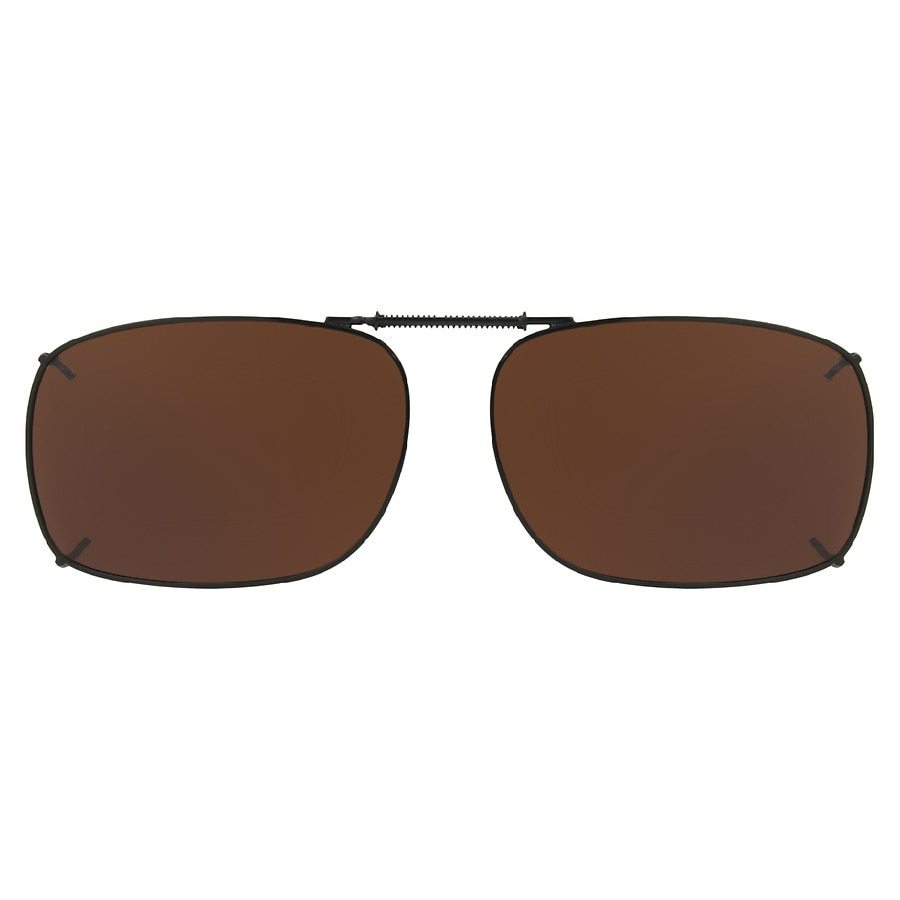 f83e7284f3 Solar Shield Fits Over Metal Polarized 52 Rec 1 Clip On Sunglasses