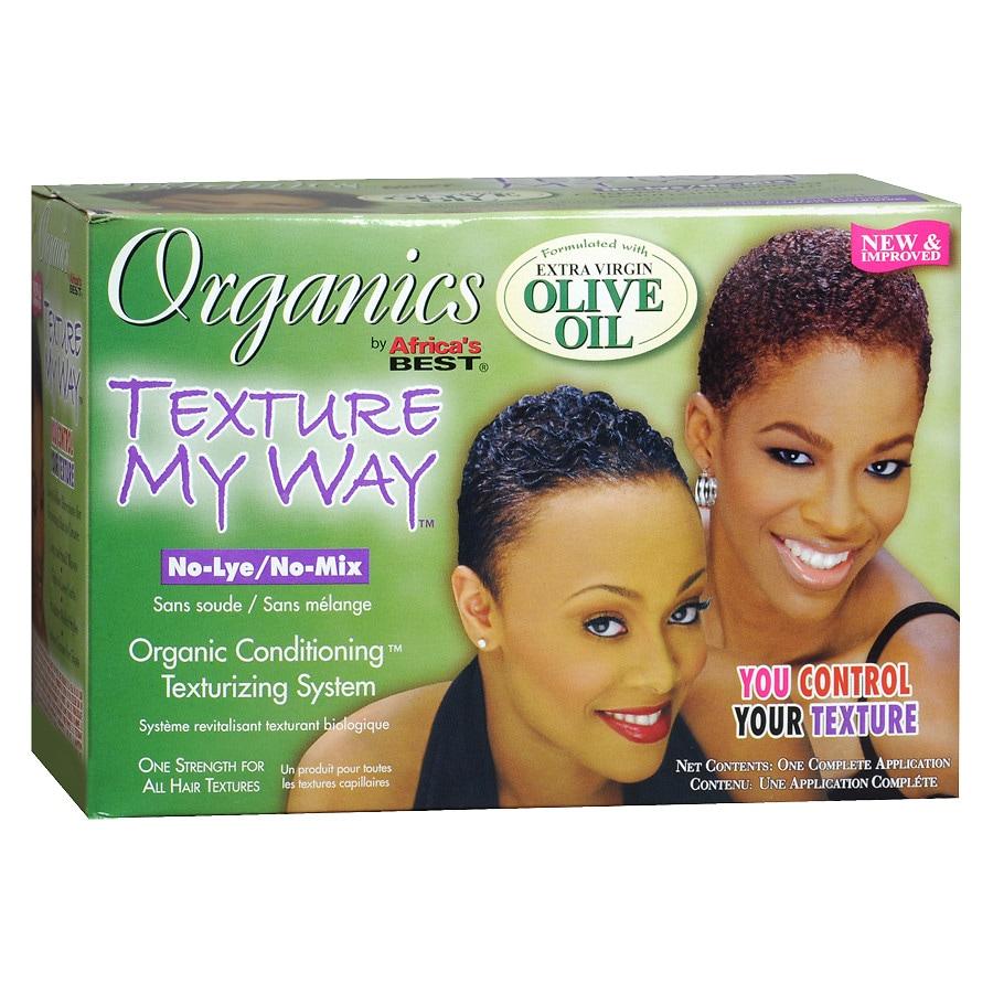 Texture My Way Organics Texture My Way No-Lye/No-Mix Organic ...