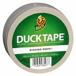 Duck Tape Color Duct Tape Winking White