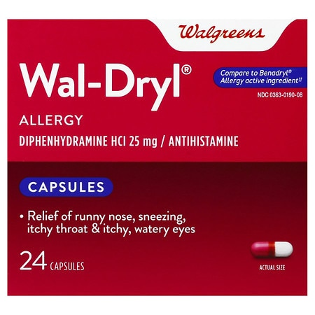 Walgreens Wal-Dryl Allergy Capsules