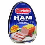Celebrity Boneless Cook Ham with Natural Juices