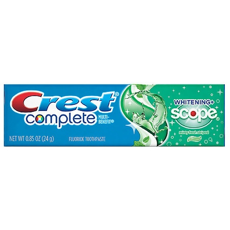 Crest Complete Multi-Benefit Whitening + Scope Fluoride Toothpaste