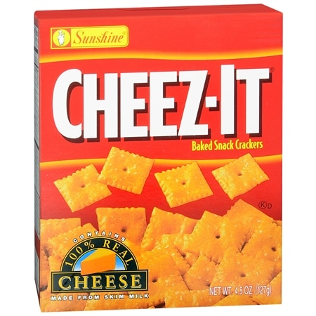 Cheez-It Baked Snack Crackers - 4.5 oz.