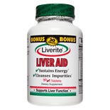 Liverite Liver Aid Dietary Supplement Tablets