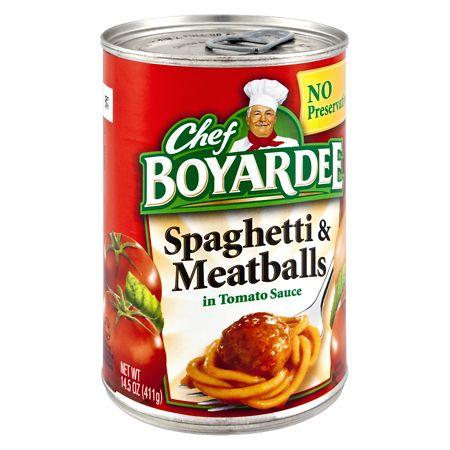 Chef Boyardee Spaghetti & Meatballs - 14.75 oz.