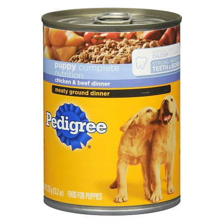 Pedigree Meaty Ground Dinner Food For Puppies
