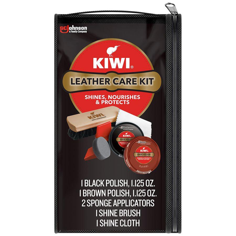 amazing selection utterly stylish nice cheap Kiwi Leather Care Travel Kit | Walgreens