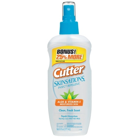 Cutter Skinsations Insect Repellent Spray