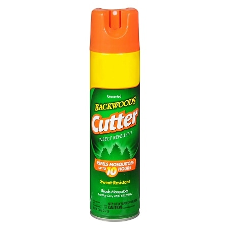 Cutter Backwoods Insect Repellent Spray Unscented
