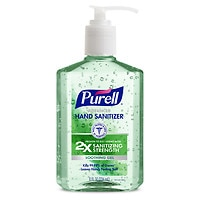 Deals on Purell Advanced Hand Sanitizer Pump Aloe