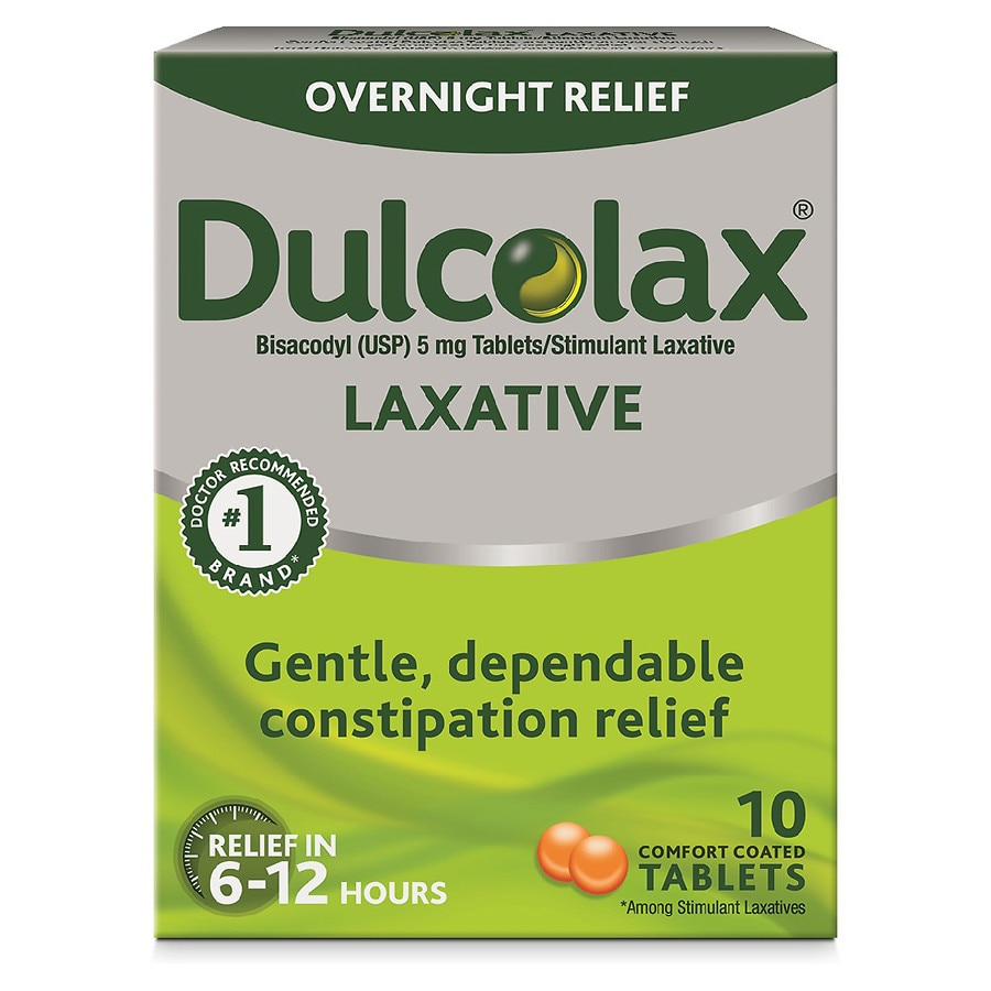Dulcolax Laxative Comfort Coated Tablets Walgreens