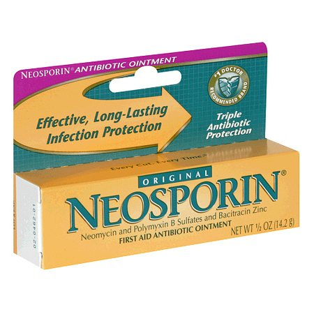Neosporin Original First Aid Antibiotic Ointment - 0.5 oz.