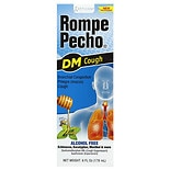 Rompe Pecho DM Cough Suppressant/ Expectorant Liquid Honey