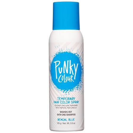Jerome Russell B Wild Temp'ry Hair Color Spray Blue