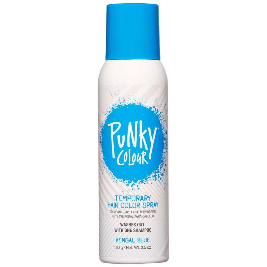 B Wild Tempry Hair Color Spray Blue Walgreens